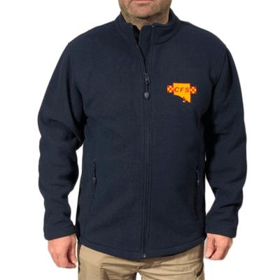 CFS Full Zip Navy Polar Fleece Jacket