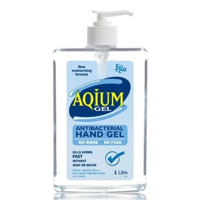 Aqium Antibacterial Hand Sanitiser 1 L