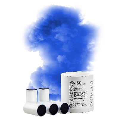 AX60 COLOURED SMOKE BOMB BLUE