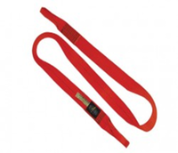 2m x 50mm Flat Snake Sling - Red, Blue, Black or Orange